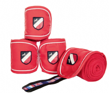 HKM INTERNATIONAL FLAGS BANDAGES RED - RRP £17.95